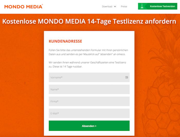 MONDO MEDIA kostenlos testen