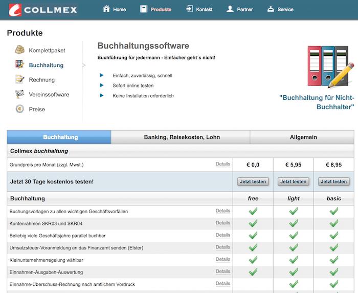 Collmex Buchhaltung