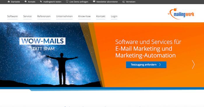 mailingwork Startseite