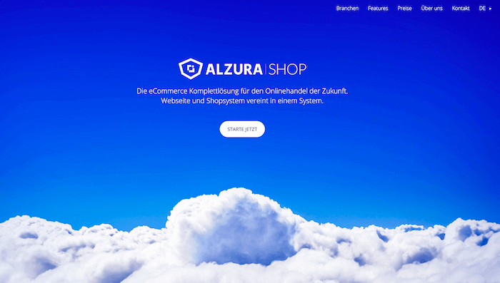ALZURA Shop Startseite